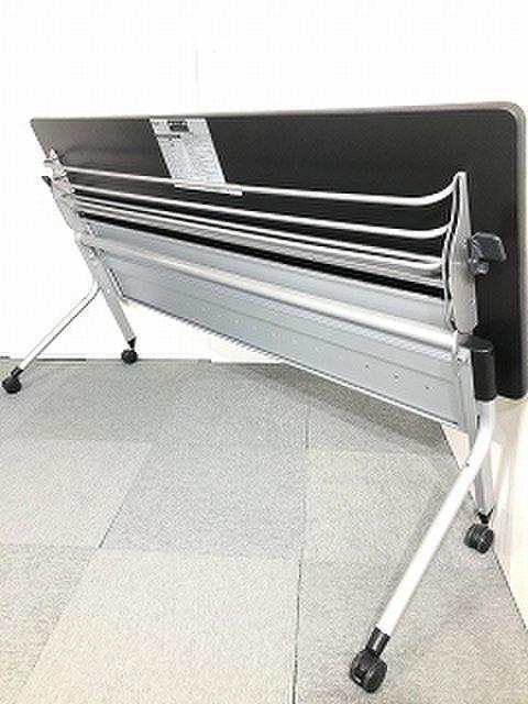 プラス製 Linello 2シリーズ W1800サイズ ホワイトカラー サイドスタックテーブル入荷!!【関西倉庫在庫】                         Linello 2                                     中古