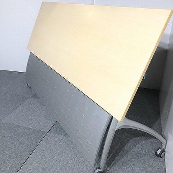 イトーキ製 リリッシュシリーズ 天板ナチュラル W1800サイドスタックテーブル入荷!【関西倉庫在庫】                         リリッシュ                                      中古
