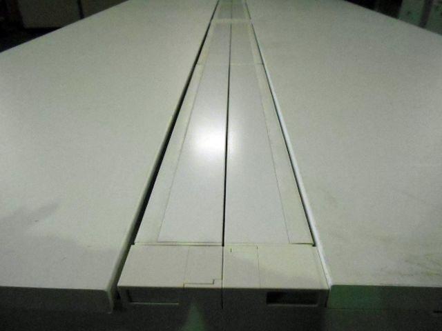 内田洋行製アルプレイスシリーズのフリーアドレスデスクです!!W4800の大型サイズ!!増員 入替 新規購入にオススメ!【関西倉庫在庫】                         アルプレイス                                      中古