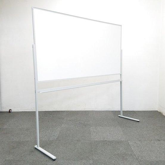 【限定1台】ホワイトボード|片面・自立式|横幅1800mmサイズ☆ 中古家具 リサイクル                         その他シリーズ                                     中古