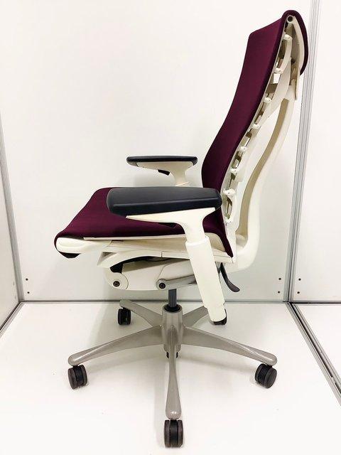 【超希少!!限定1脚!!】ハーマンミラー(Herman Miller)エンボディチェア(Embody)/色:パープル ★                         Embody Chair(エンボディ チェア)                                     中古