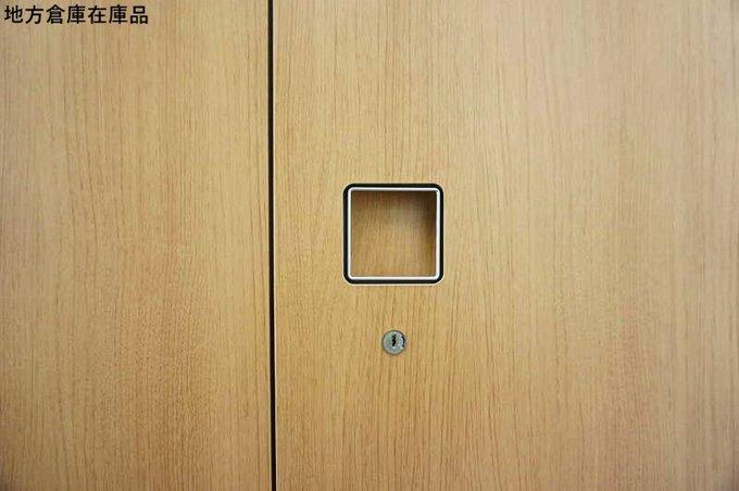 【地方倉庫在庫品】オカムラ レクトライン■ブラウン書庫【T1】                         レクトライン                                      中古