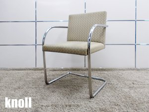knoll/ノール ミース・ファンデルローエ チューブラー アームチェア バウハウス