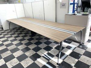 【なんと定価80万越え!】コクヨ(KOKUYO)サイビ(SAIBI Table)シリーズ 色:グレインドミディアム フリーデスクとしても使える! ★
