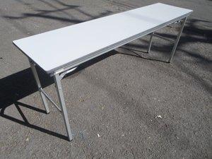 【入荷速報!】■オカムラ製 折り畳みテーブル W1800×D450mmタイプ
