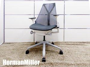 【2015年製】HermanMiller/ハーマンミラー セイルチェア 肘付 グレー