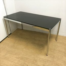 USMハラーテーブル 大きなダメージ有のためお安く(天板えぐれ等) 【デザイナーズ家具】
