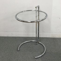 【デザイナーズ家具】【リプロダクト品】ClassiCon /クラシコン アジャスタブルテーブル デザイナー:アイリーン・グレイ(Eileen Gray) クラシック