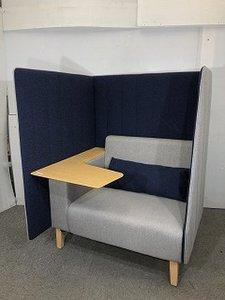 コクヨ インターバル  / スクリーンパネルとテーブル付きソファー入荷! / 限定2セット 1人用ブース コンセント付き
