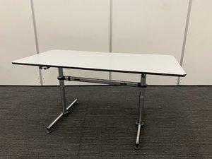 【テーブル・デスク両方でお使い頂けます!】USM/キトステーブル/ホワイト/1500幅