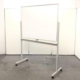 【■イトーキ、ホワイト】オフィスの必需品!約W1300㎜タイプの両面ホワイトボード!【両面タイプ】