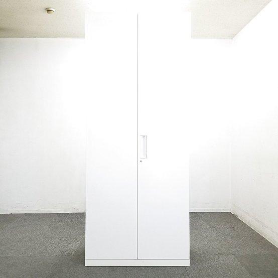 【38台入荷】人気のエディアシリーズ入荷!中古 キャビネット 書庫 ロッカー 棚 ホワイト オフィス                         エディア                                      中古