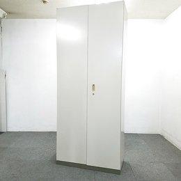 【4台入荷】背の高いハイキャビネット入荷!中古 両開き オフィス キャビネット