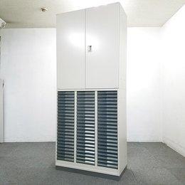 【1台入荷】コクヨ製の上下書庫入荷!中古 コクヨ キャビネット オフィス