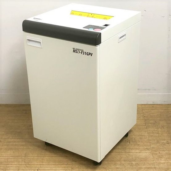 明光商会 MSD-F31GPV スパイラルカット 定格裁断枚数20枚でストレスフリー グラデーションランプ搭載