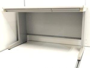 【残り2台!】 コスパ抜群の平机はこちら! 一番売れている幅120cm! 内田洋行_JUSTシリーズ_グレー