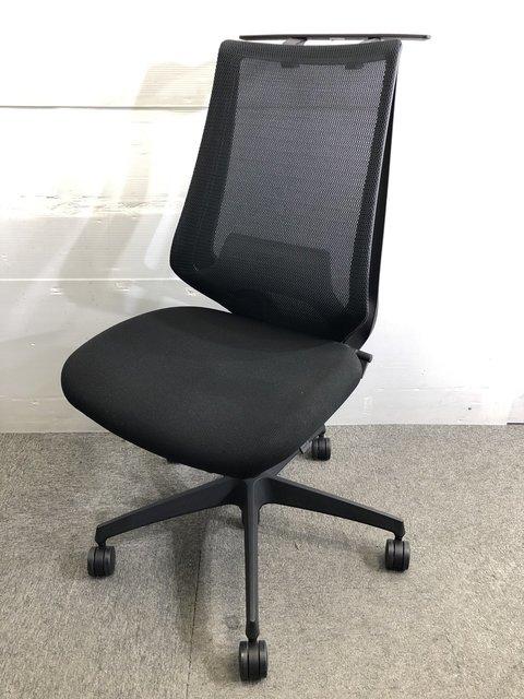 【在庫入替】デュオラチェア コクヨサポート機能満載! 一人ひとりの座り姿勢にフィットします!|ランバーサポート付|