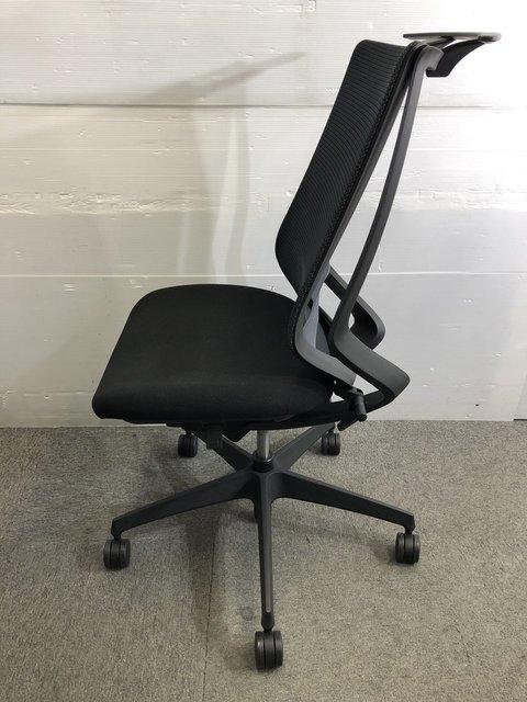 【在庫入替】デュオラチェア コクヨサポート機能満載! 一人ひとりの座り姿勢にフィットします!|ランバーサポート付|                         デュオラチェア                                      中古