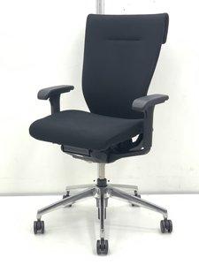 【ゆったり座れるオフィスチェア!】イトーキ(ITOKI)コセール/色:ブラック/肘付き