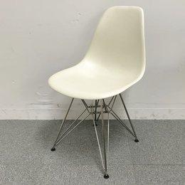 HermanMiller(ハーマンミラー) イームズサイドシェルチェア DSR エッフェルベース  ホワイト【デザイナーズ家具】【ミッドセンチュリー】