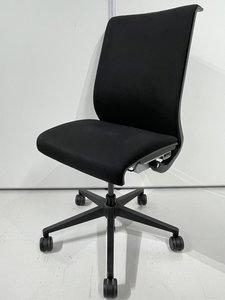 【海外製】スチールケース シンク ブラック ハイバック 肘なし オフィス リモートワーク 在宅ワーク