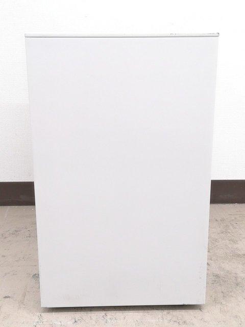 【大量入荷】フリアドデスクのお供に必須!便利ホワイトA4ファイル2段収納OK◆内田洋行製                         スカエナワゴン                                      中古