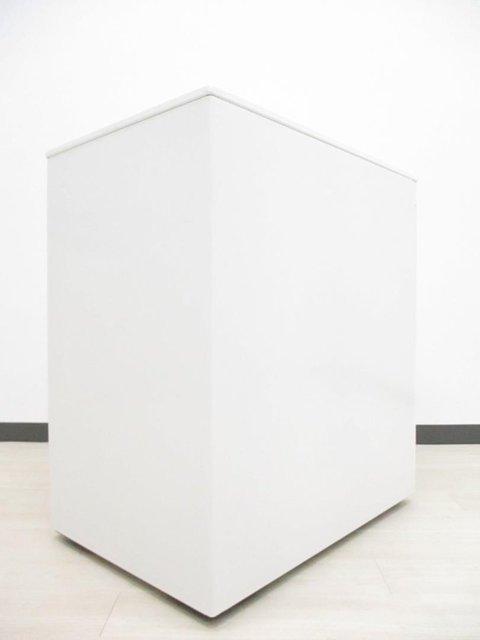 【フリーアドレス用】オカムラ アドバンス H650 フリーアドレスデスク ホワイト 3段ワゴン オフィス 収納                         アドバンス                                      中古