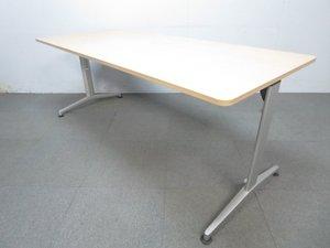 【長細~~いテーブル入荷!】 ミーティング用にはもちろん、 作業台としてもお使い頂けまっす!