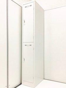 【展示品】大人気/稀少品/レア/シリンダー錠/鍵2本付 ◆SEIKO/生興 ◆SLKロッカー(ホワイトタイプ) ※横浜店撮影画像※