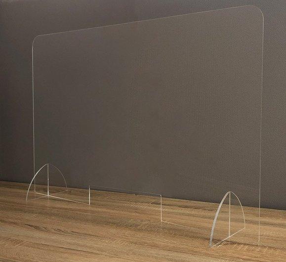 井上金庫製 飛散防止パネル コロナ対策 仕切り板 W900 アクリル