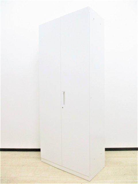 【まとめて揃う!】コクヨ/エディア/ホワイト/ハイキャビネット/シリンダー錠