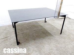【店舗移転セール!!】cassina ixc/ カッシーナ イクスシー リトモ W1600 ダイニング / ミーティング / 会議用 ブラック