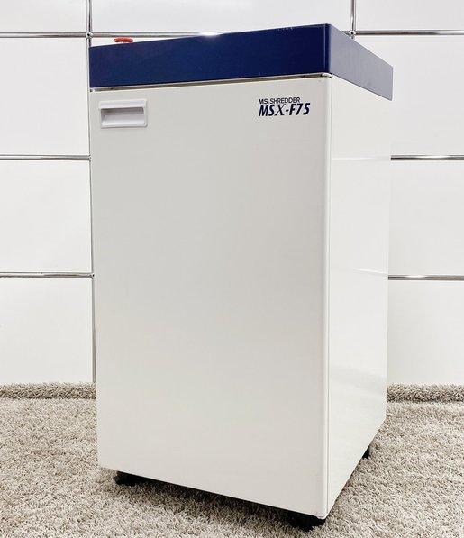 明光商会製 MSX-F75 シュレッダー レア 限定1台 送料無料 おすすめ 入れ替え 新規購入 書類裁断