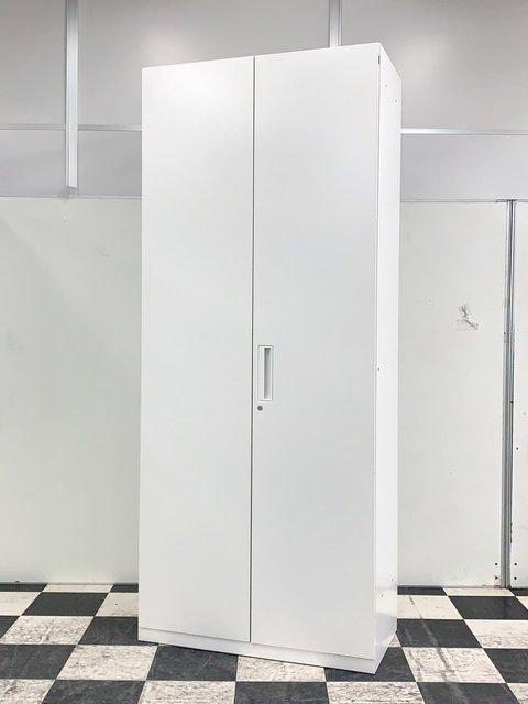 【数量揃います!】コクヨ(KOKUYO)エディアシリーズ 両開き書庫/色:ホワイト/高さ2150㎜ A4収納 ハイキャビネット