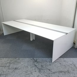 【関西倉庫在庫】オカムラ プロユニットフリーウェイ ホワイト W3200 フリーアドレスデスク