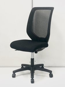 【低価格メッシュチェアならコレ!】 シンプルデザイン■ブラック■会議用室用にもおすすめ!■コルトチェア