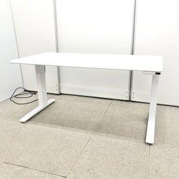【日焼けあり】【好きな椅子を自由に置けちゃう!】オカムラ製/電動式昇降デスク/スイフト