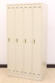 【新古品】【鍵2本つき】中古業界で枯渇中の4人用ロッカーです!♦生興製