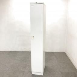 【1台限定】 スリムな1人用ロッカー入荷!中古 ロッカー 更衣室 ホワイト オフィス 事務所