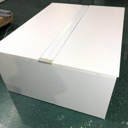 【倉庫在庫商品】内田洋行 アルプレイス W1800 ホワイト フリーアドレスデスク