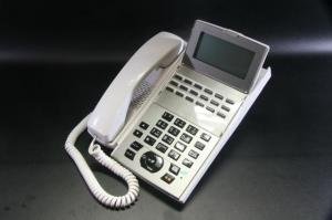 【NTT】製 最大手の安心感 【18ボタン標準スター電話機(白)】 スター配線対応の標準電話機 【αNX2シリーズ対応】