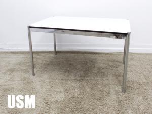 USMハラー / USM Haller ハラーテーブル W1250 ワーキングデスク パールラミネートグレイ