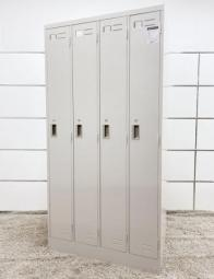 【中古市場では常に品薄!】 シンプルなデザインのロッカーが入荷! ■コクヨ ■LKロッカー ■ニューグレー