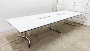 【新品定価約52万】人気の会議室用の大型テーブルが入荷!■オカムラ■ラティオⅡ (RATIOⅡ)■2枚天板