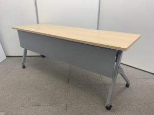 【Aランク商品!】人気のナチュラルカラーの研修・会議用テーブル!■オカムラ■フラプター