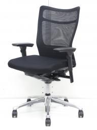 【快適な座り心地と使いやすさ! 】オカムラ/フィーゴメッシュ/ブラック/可動肘