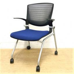 【倉庫在庫品】ネスティング収納も可能なグラータチェア!!背面も少したわんで座りやすい!!入替・追加・起業