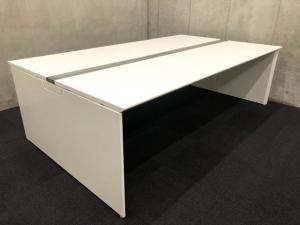 【フリアド】W2400サイズ(ホワイト天板)|オカムラ(okamura)|フリーウェイ|推奨:4名用~【A】【倉庫在庫品】