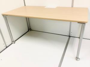 【状態良好品4台入荷!】イトーキ(ITOKI)アクティブフィールド 片面ワークテーブル(平机) ■色:ナチュラル 幅1500㎜
