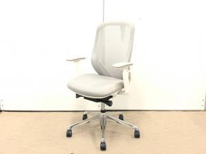 テレワーク期間に入って最も売れているチェア!オフィス用の椅子として人気の商品です!【肘新品!】